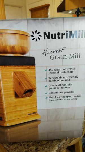 NutriMill Harvest Grain Mill for Sale in Tempe, AZ