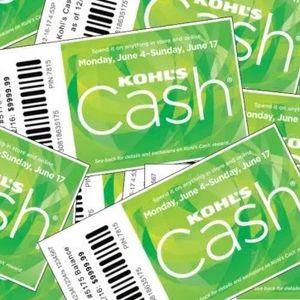$180 Kohl's Cash Valid 11/28/20-12/09/20 for Sale in Rocklin, CA