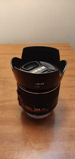 "Nikon 18-55mm f/3.5-5.6G ""VR-II"" DX AF-S Lens for Sale in Buffalo, NY"