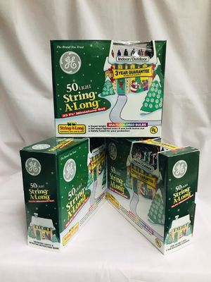 Multi-colored miniature light sets - 3 (Christmas) for Sale in Bolingbrook, IL