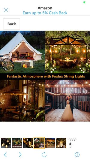 Outdoor String Lights with 15 Hanging Sockets, 48Ft Commercial Grade Waterproof LED for Sale in Pullman, MI