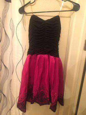 Semi Formal Black/Hot pink Dress for Sale in El Paso, TX