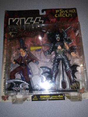 VINTAGE 1998 KISS PSYCHO CIRCUS GENE SIMMONS/THE RING MASTER NEW FACTORY SEALED for Sale in Lisle, IL