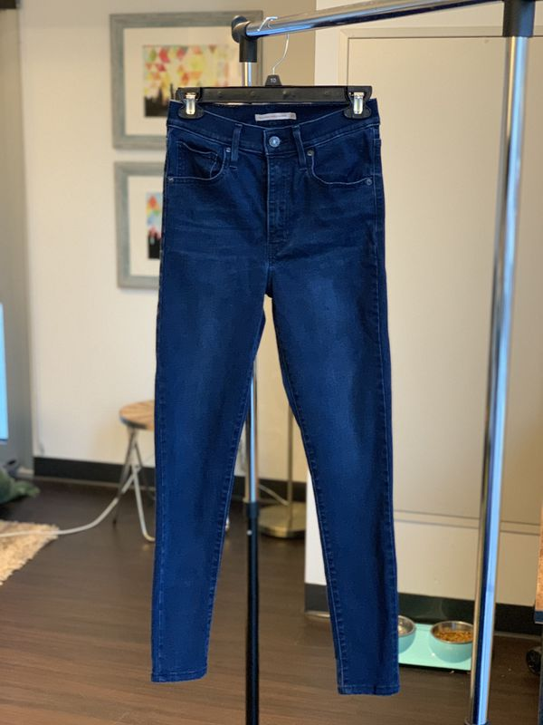Levi's Mile High skinny jeans size 27 (4)