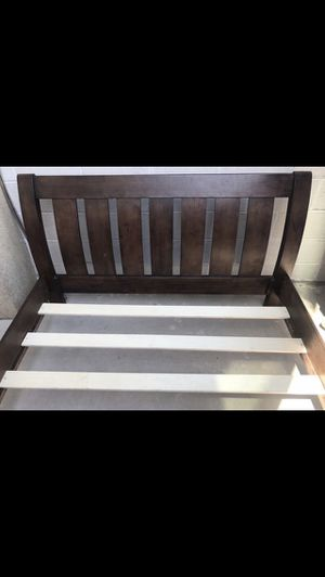NICE REAL WOOD BED FRAME QUEEN SIZE. $100 for Sale in Washington, DC