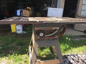 Craftsman 10 saw no motor for Sale in Sardis, OH