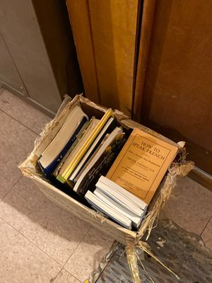 Box of free books for Sale in Brooklyn, NY