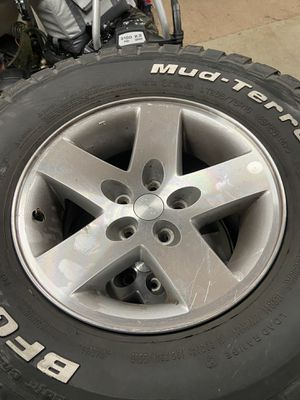 16 inch 5x4.5 Jeep wheels (4) of them for Sale in Brentwood, CA