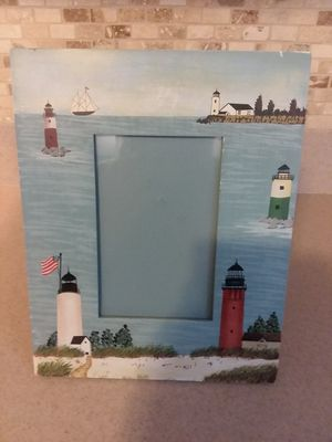 Lighthouse picture frame for Sale in Tinton Falls, NJ