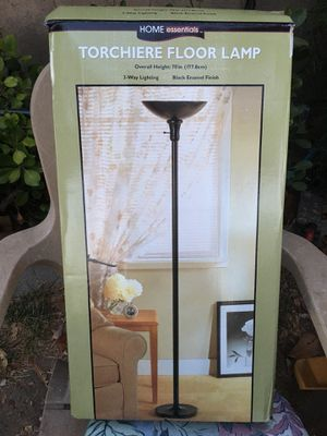 New Home Interior Home Essentials Torchiere Floor Lamp for Sale in Fresno, CA