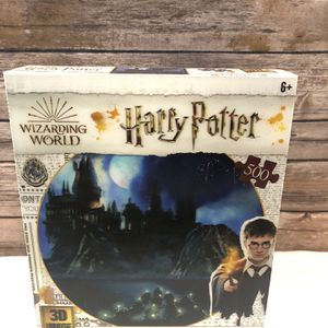 Harry Potter 3D Puzzle Hogwarts Castle 500 Pieces | Brand New for Sale in Owings Mills, MD