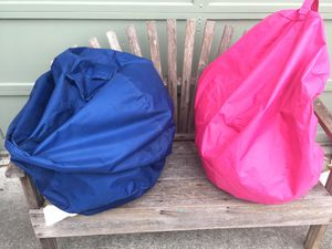 Bean bags $15 each or both for $25 for Sale in Lacey, WA