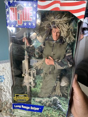 Gi Joe collectible (2002 long Ranger sniper) for Sale in Redwood City, CA