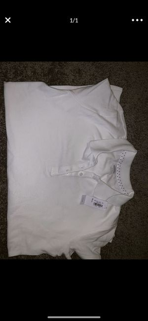 Two Girls brand new uniform shirts size 14 for Sale in Antioch, CA