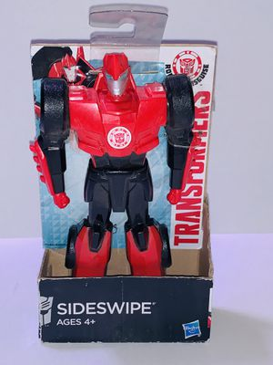 """Hasbro Transformers Robots in Disguise Sideswipe 6"""" Figure for Sale in Los Angeles, CA"""