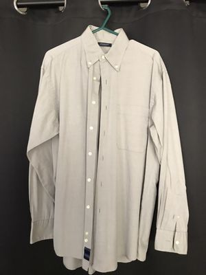 Burberry London large grey button down shirt for Sale in Miami Beach, FL