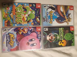 Nintendo switch games for Sale in Aurora, CO