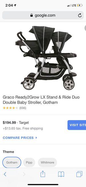 Double stroller for Sale in Santa Rosa Beach, FL