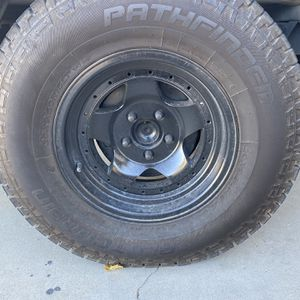 15 5x4.5 Wheels And Tires Offroad for Sale in Apple Valley, CA
