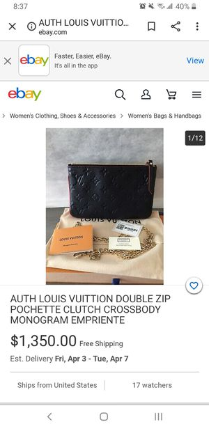 Authentic louis vuitton for Sale in Salt Lake City, UT