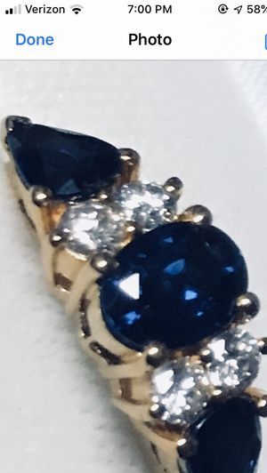 Tanzanite , diamond and gold ring for Sale in Concord, NC