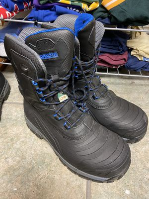 Dakota winter work boot composite toe and plate sizes available 11-12-13 for Sale in Doral, FL