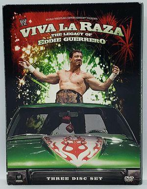 WWE: Viva La Raza The Legacy Of Eddie Guerrero (DVD, 2008, 3-Disc Set) for Sale in Harrisonburg, VA
