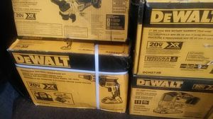 "Dewalt new"" grinder,drywall gun,rotary hammer,jigsaw,impact. for Sale in Stockton, CA"