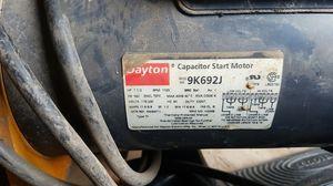 Dayton capacitor start motor for Sale in Fresno, CA