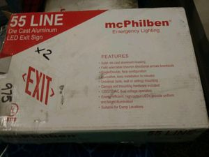 Led exit sign for Sale in Rowlett, TX