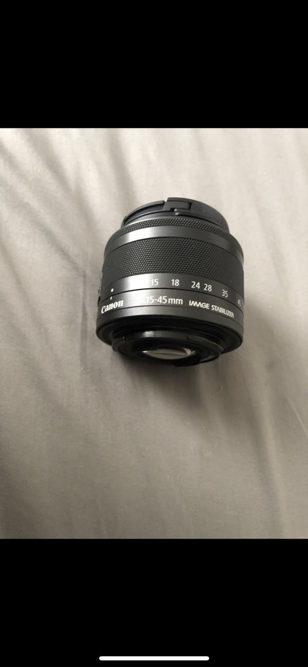 Brand New Canon Camera Zoom Lens EF-M 15-45mm