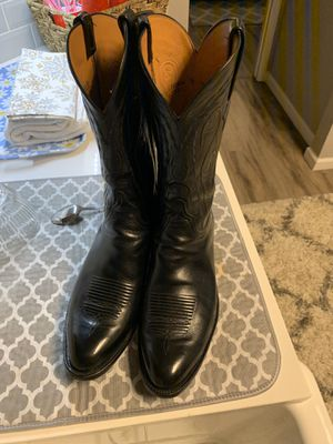 Black Lucchese boots for Sale in Frisco, TX