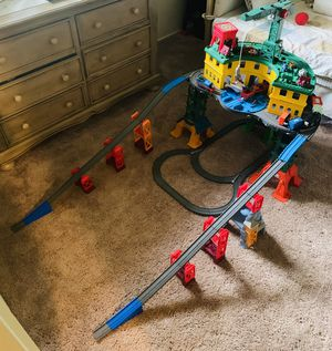 Thomas & Friends Super Station plus EXTRA Trains for Sale in Ridgefield Park, NJ