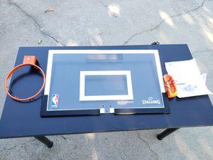 NBA Spalding 180 Breakaway over the door mini basketball hoop for Sale in Citrus Heights, CA