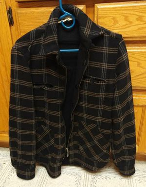 Men's ByCorpus Urban Outfitters Reversible Black Jacket Size Small Like New for Sale in Cupertino, CA