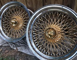 17x9 Triple Cross Laced Dayton's for Sale in Tampa, FL