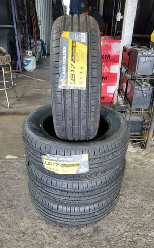 205/60/16 new tires for $320 with balance and installation we also finance {contact info removed} ask for Dorian 7637 airline dr houston TX 77037 for Sale in Houston, TX