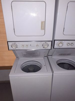 GE WASHER AND DRYER STACKABLE for Sale in Largo, FL