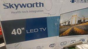 40 in Skyworth LED TV for Sale in Houston, TX