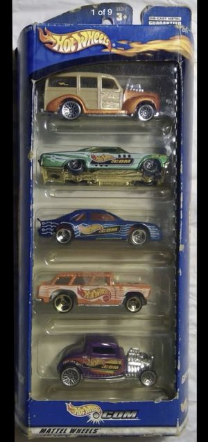 5-CAR MATTEL WHEELS GIFT PACK #25371, 2007 Mattel HOT WHEELS Easter Speedsters diecast 5-pack TARGET exclusive, MOM'S SCHOOL BUS 2002, 6 USED CARS for Sale in Yorba Linda, CA