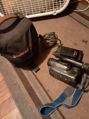 Old Sony video camera for Sale in Pasadena, TX