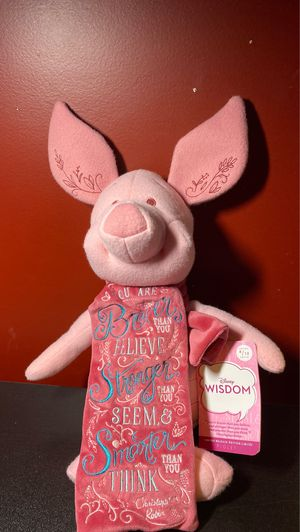 Disney Wisdom Plush 4 of 12 (Piglet) for Sale in Levittown, NY