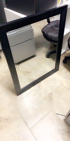 Dark Brown/Black Wall Mirror for Sale in Rockford, IL