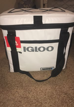 Igloo Marine Ultra Soft Sided 24 Can Cooler for Sale in Pittsburgh, PA