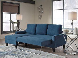 🌀🌐Jarreau Blue Sofa Chaise Sleeper ♦️by Ashley🌀🌐 for Sale in Greenbelt,  MD