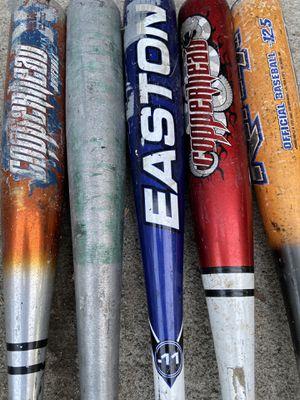 "Aluminum baseball bats 26 inches 28"" 29"" 30 inches for Sale in Cerritos, CA"