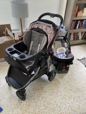 Graco Click Connect Stroller Car Seat Combo for Sale in Seminole, FL
