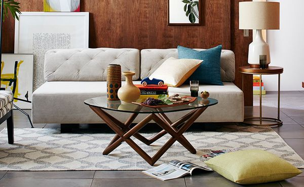 West Elm Spindle Coffee Table For Sale In Encinitas Ca Offerup