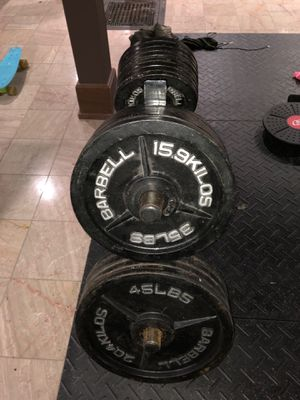 Weight set with weight stand for Sale in Carroll, OH