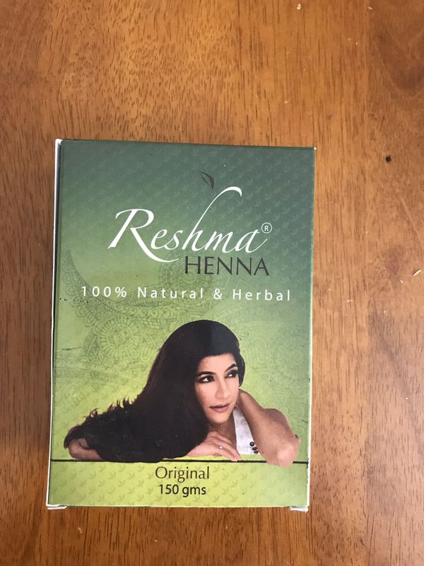 Henna 100% natural